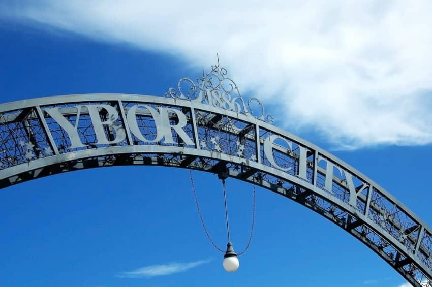 Ybor City arch
