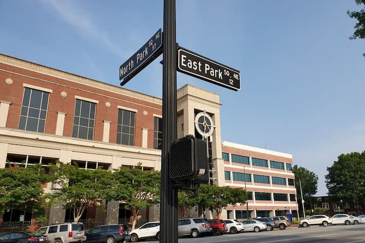 Downtown Marietta street signs