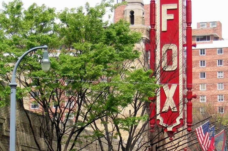 Fox Theater sign in Atlanta