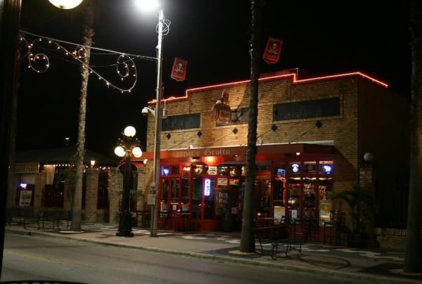 Exterior of Gaspar's Grotto in Tampa