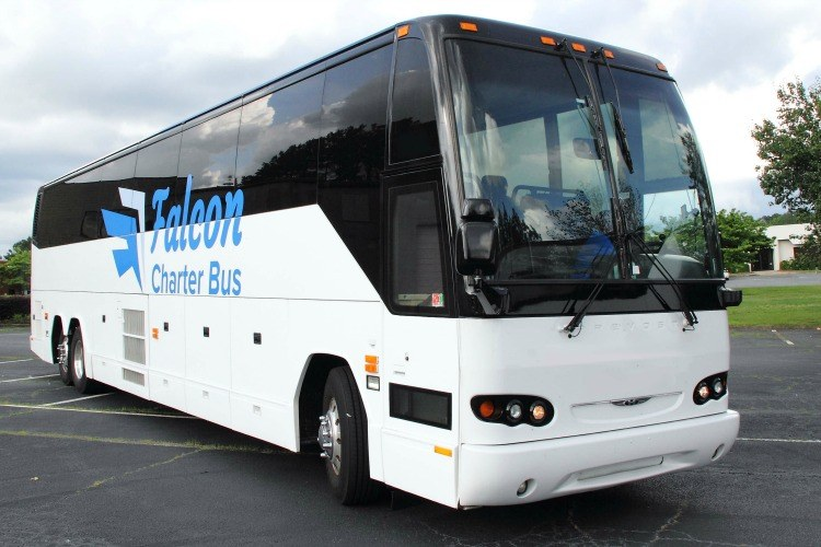 Atlanta Charter Bus Rental Company Falcon Charter Bus