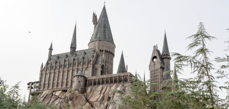 harry potter world castle orlando falcon charter bus
