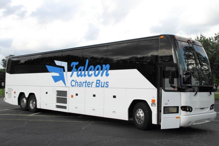 Tampa Charter Bus Rental Company | Falcon Charter Bus